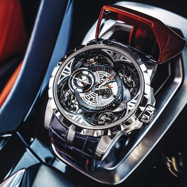 Roger Dubuis Our History watch