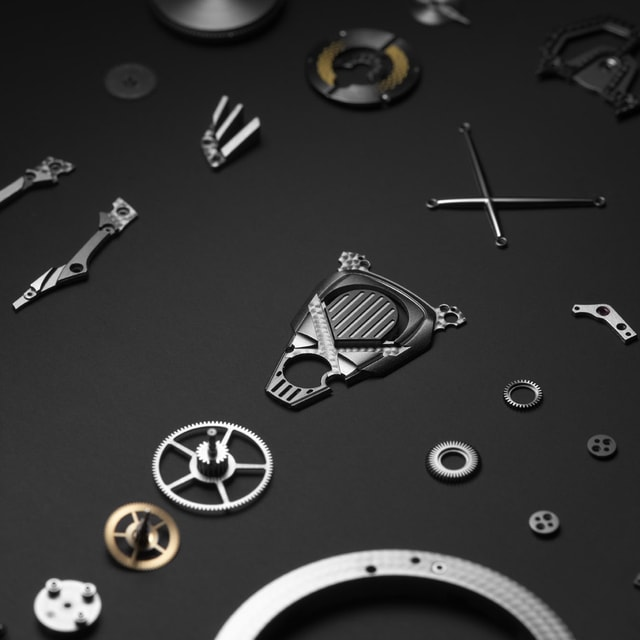 Roger Dubuis Manufacture caliber exploded view