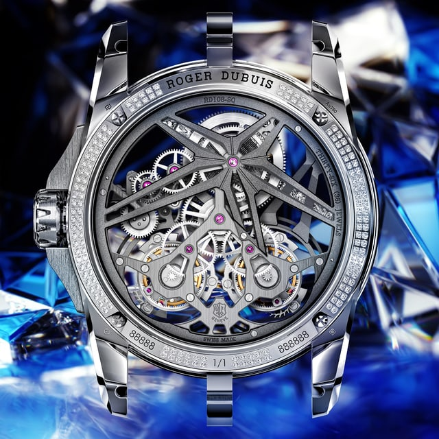Roger Dubuis Excalibur Collection Superbia Grid image