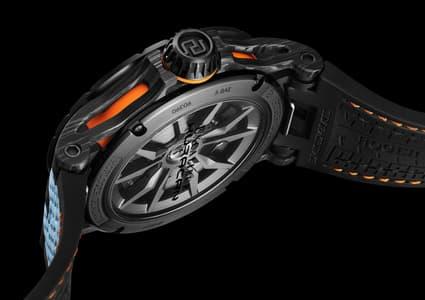 Excalibur Spider Huracán STO Carbon watch detail