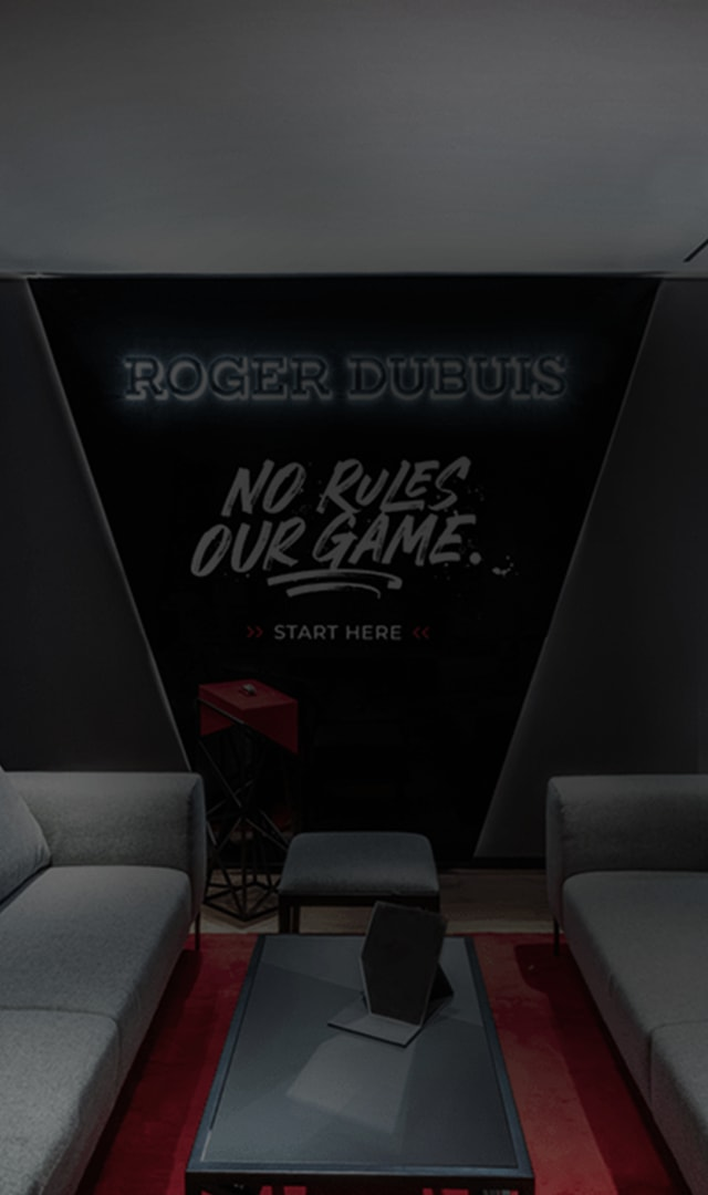 Roger Dubuis Virtual boutique lounge header