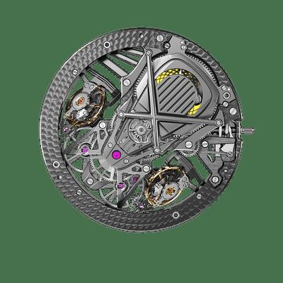 RD103SQ | Double balancier-spiral à différentiel