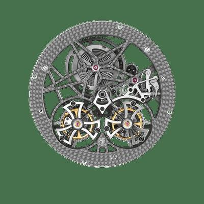 RD01SQ | Double Tourbillon Volant Squelette