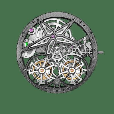 RD105SQ | Double Flying Tourbillon à différentiel