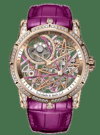 EXCALIBUR王者系列 Blacklight Pink Gold 42mm