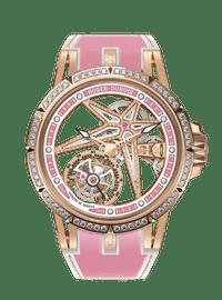 Excalibur Spider Pink Gold 39mm