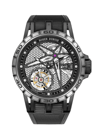 EXCALIBUR SPIDER系列 Black DLC Titanium 39mm