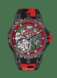 EXCALIBUR SPIDER系列 Pirelli Black DLC Titanium 45mm