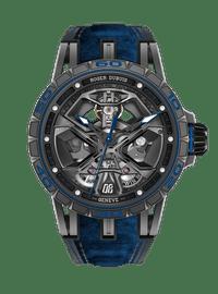 EXCALIBUR SPIDER系列 Huracán Black DLC Titanium 45mm