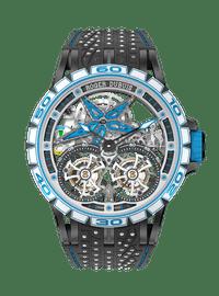 EXCALIBUR SPIDER系列 Pirelli Black DLC Titanium 47mm