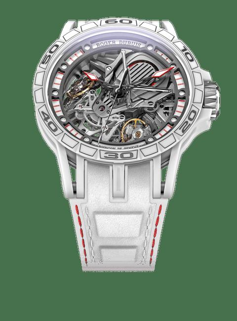 Excalibur Spider Aventador S White Ceramic 45mm