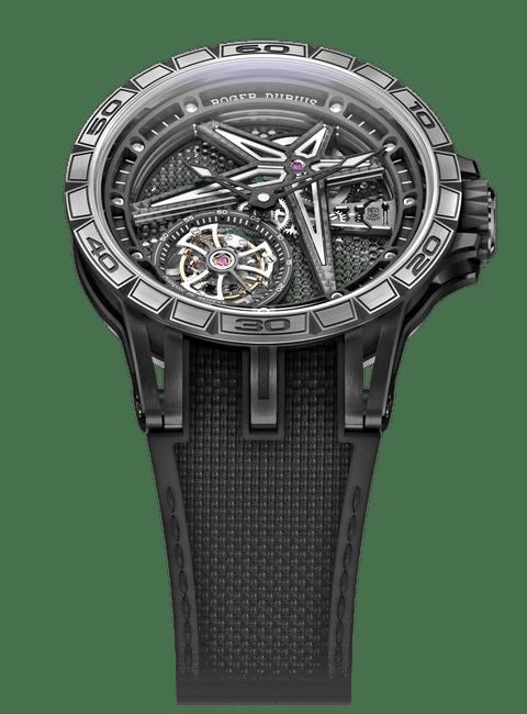 Excalibur Spider Black DLC Titanium 39mm