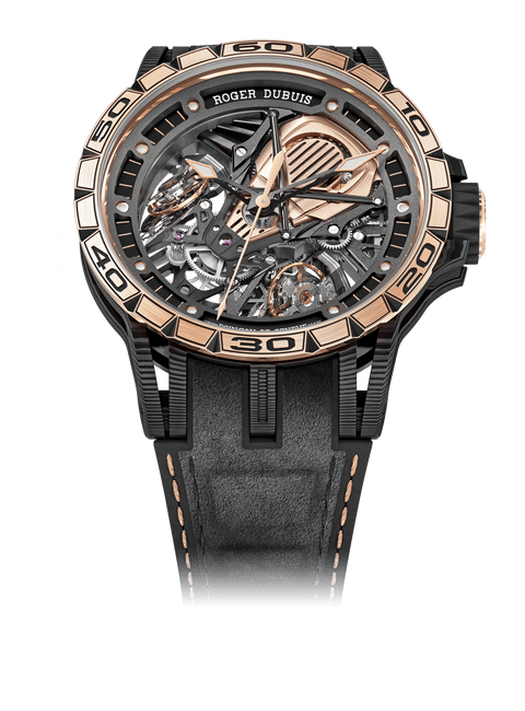 EXCALIBUR SPIDER系列 Aventador S Carbon Pink Gold 45mm