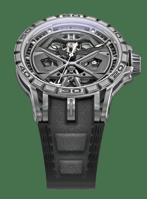Excalibur Spider Huracàn Titanium 45mm