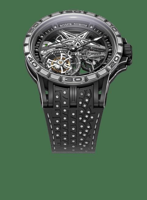 Excalibur Spider Pirelli Black DLC Titanium 45mm